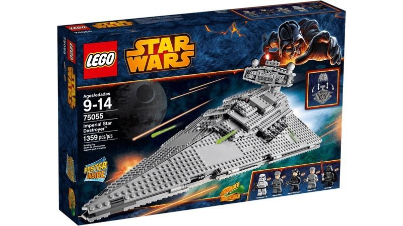 Imperial star destroyer + imperial shuttle tyrinium lego Star Wars lego