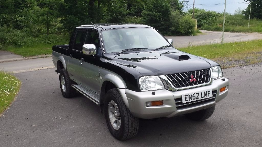 MITSUBISHI L200 4 LIFE DOUBLE CAB 2.5 TURBO DIESEL 52 2003 4X4 LOW MILEAGE