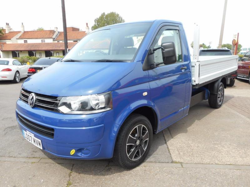 2007 VOLKSWAGEN TRANSPORTER 2.5TDI PD 130PS Chassis Cab NO VAT