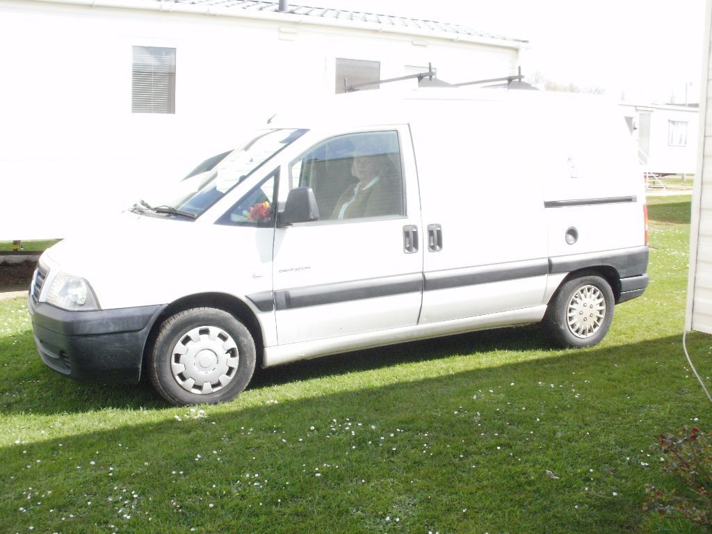 citroen dispatch small campervan