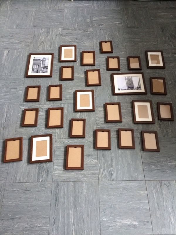 26 Wood Effect Plastic Photo Frames