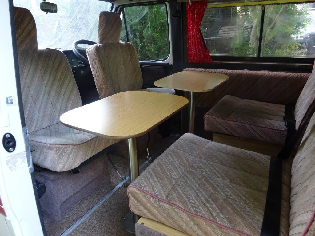 1991 Talbot Harmony Auto Sleeper, 4 berth, 4 forward facing seats. awning, bike rack, kitchen,WC