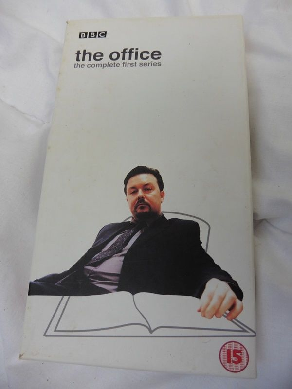 BBC THE OFFICE boxed complete first series PAL VHS video