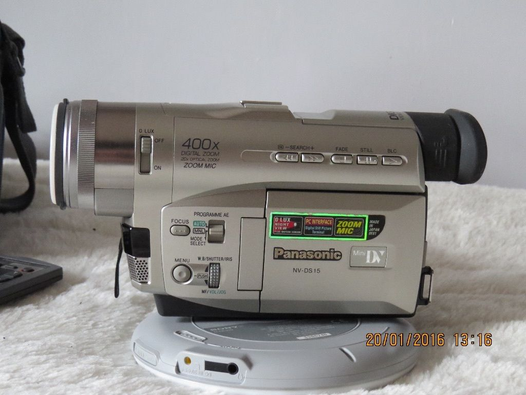 PANASONIC DIGITAL VIDEO CAMERA WITH EXTRAS- Excellant condition