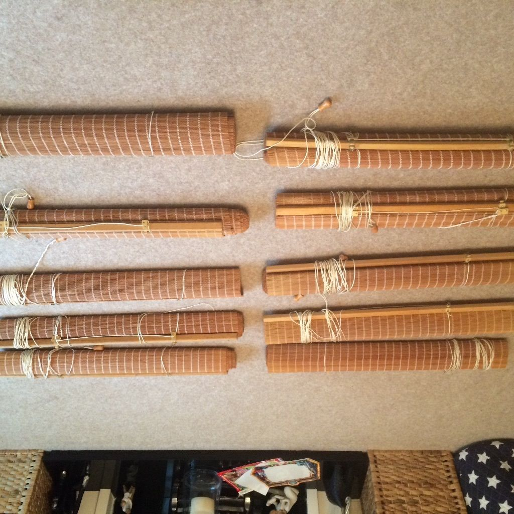 9 bamboo blinds