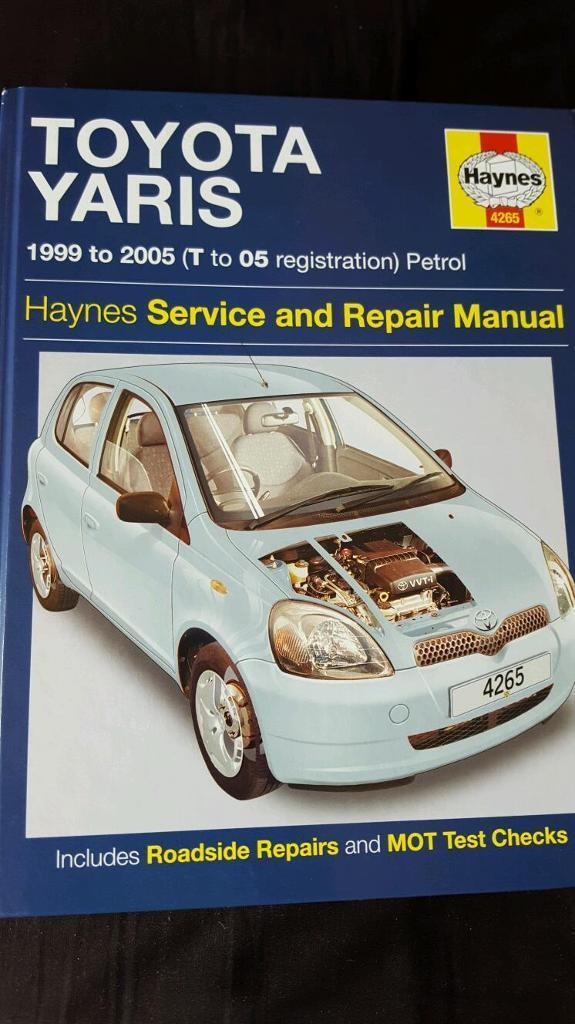 Toyota Yaris Haynes Manual 1999 - 2005