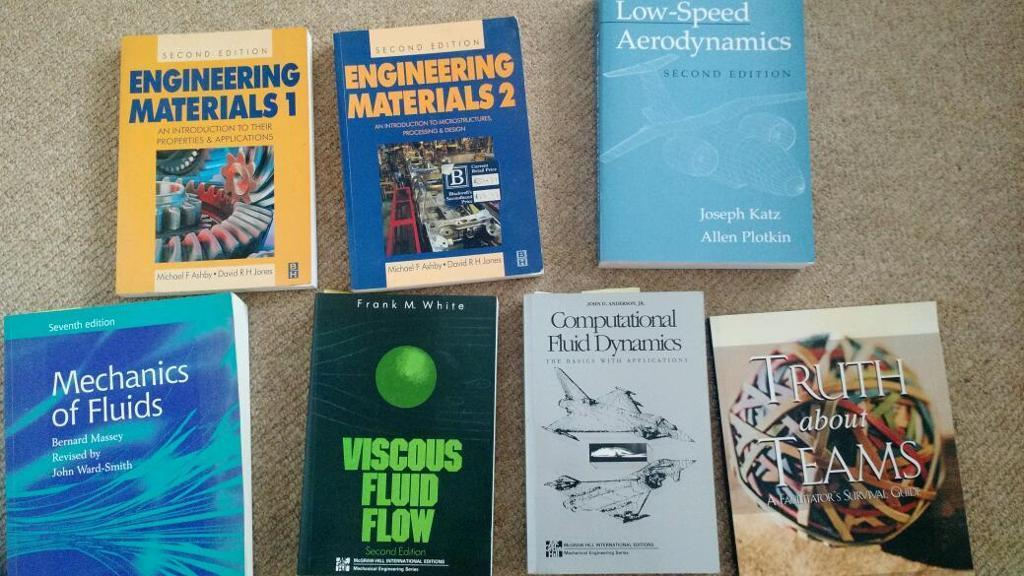 Free to a good home : Engineering text books