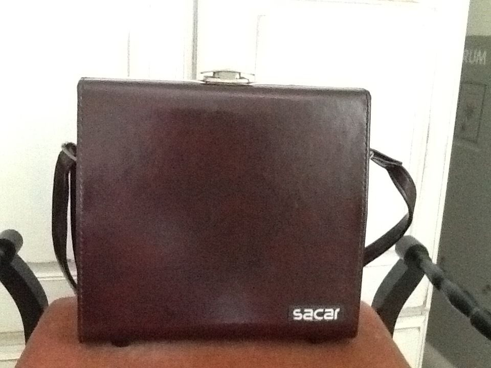 Sacar, vintage camera bag with shoulder strap