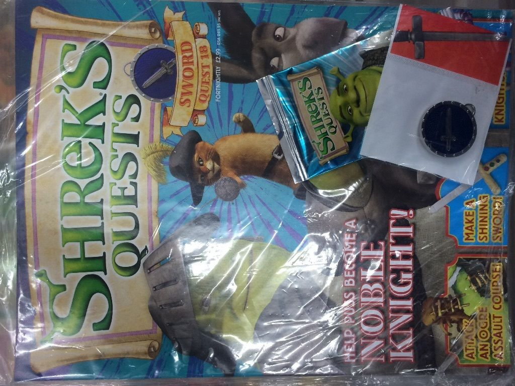 3 Shreks Quest Magazines