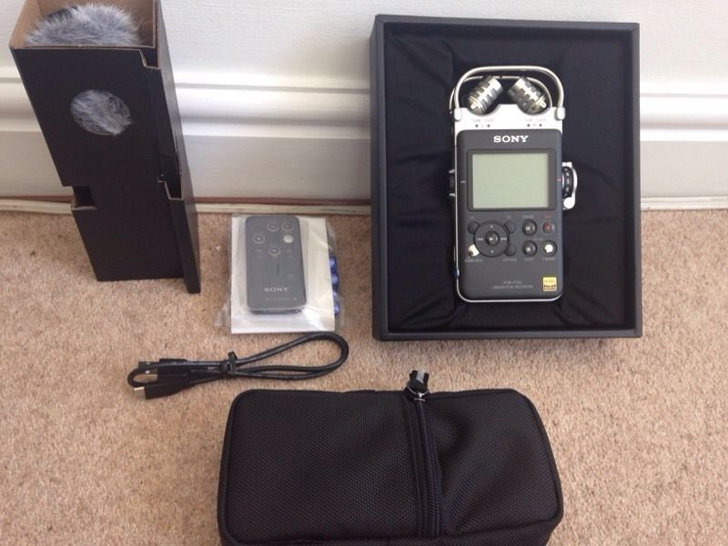 Sony PCM D100 handheld recorder