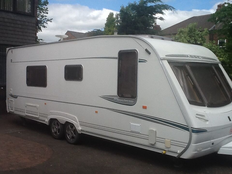 ABBEY SPECTRUM.FIXED BED,TWIN AXLE,TOURER,2004