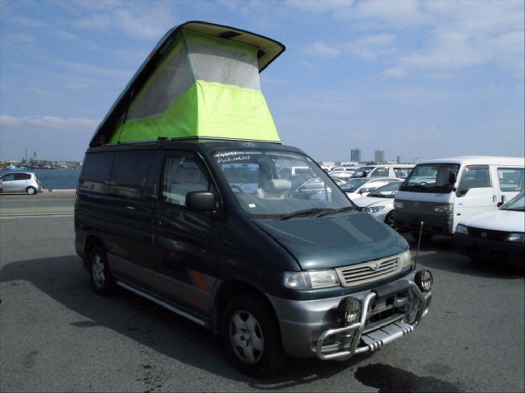 MAZDA BONGO AUTO FREE TOP ONLY 69K 4BERTH WITH 8SEATS CAMPER MPV ONLY ONE OWNER IN UK FULL UNDERSEAL