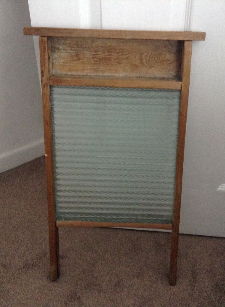 Old wash board