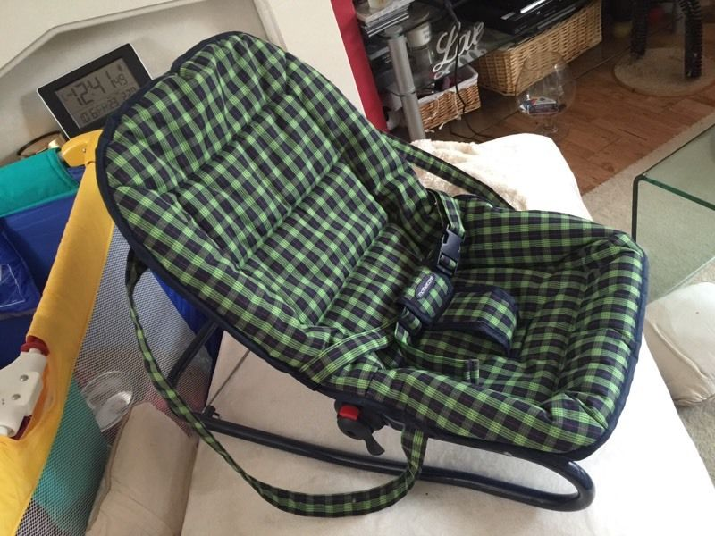 Adjustable baby bouncy chair bouncer