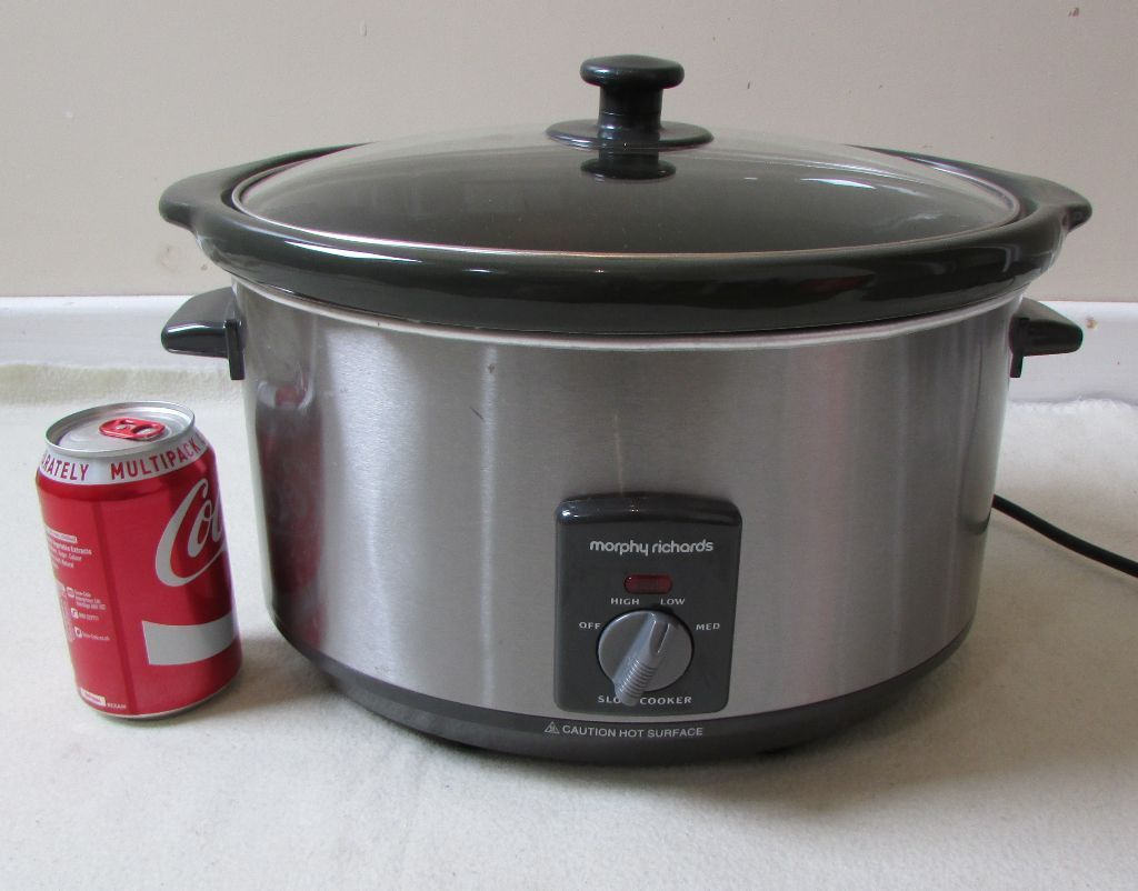 Electric cooker slow cooker Morphy Richards 6.5L Model: 48718A