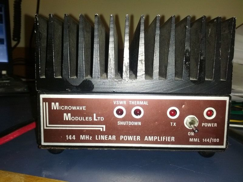 Microwave Modules 2m Linear Amplifier