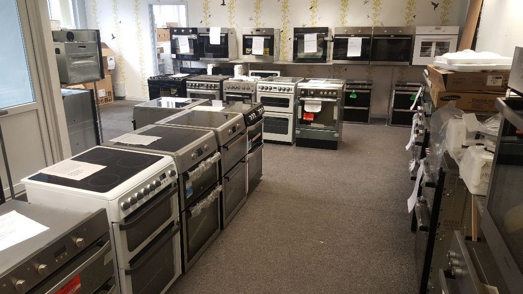 New Ex-Display Cookers - Range Cookers - Gas & Electric Cookers-Ovens-Hobs all come with Warranty