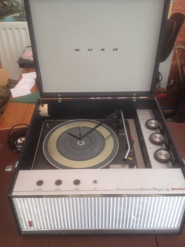 Sixties Record Player in Good Working Order