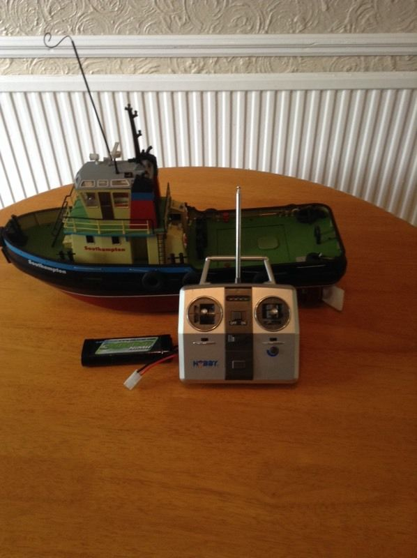 27 inch electric model boat