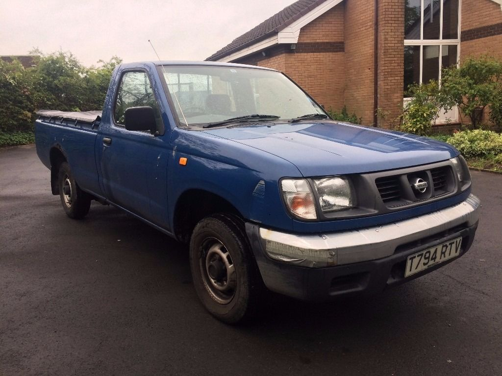 1999 NISSAN D22 2.5D 4X2 BLUE PICKUP 1 FORMER KEEPER 80000 MILES NO VAT NEW MOT
