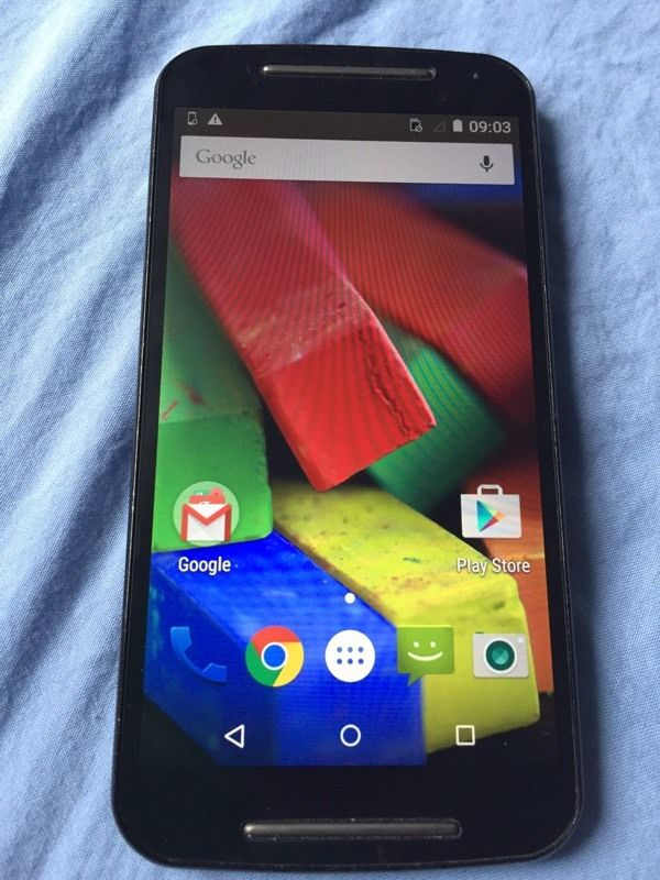 Moto android mobile phone unlocked