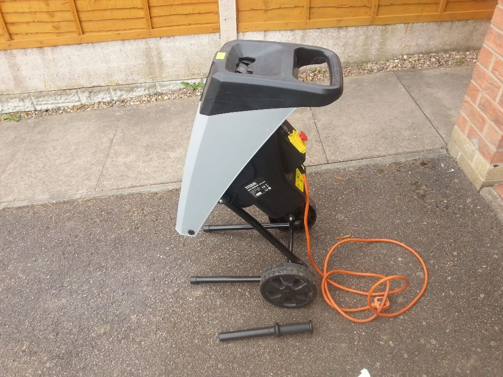 For sale Used TITAN Electric Garden Shredder.