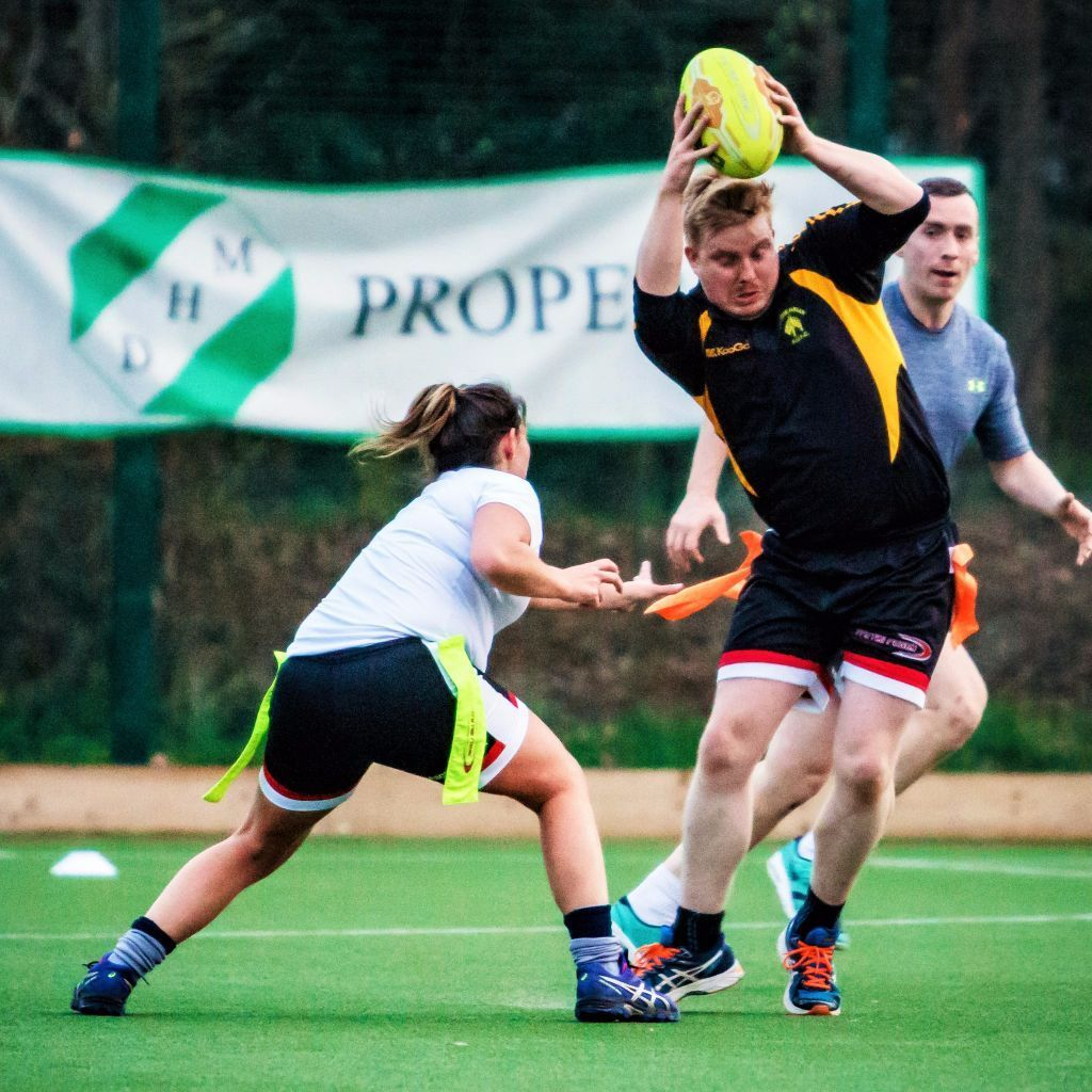 Play Mixed or Men's Social Adult Tag Rugby (Oztag) this Summer! FREE Taster Sessions & Leagues