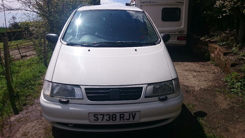 Seat Alhambra, people carrier, 7 seater for spares or repair