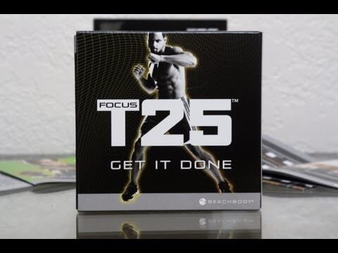 Focus T25 Dvd Sean T (like insanity)