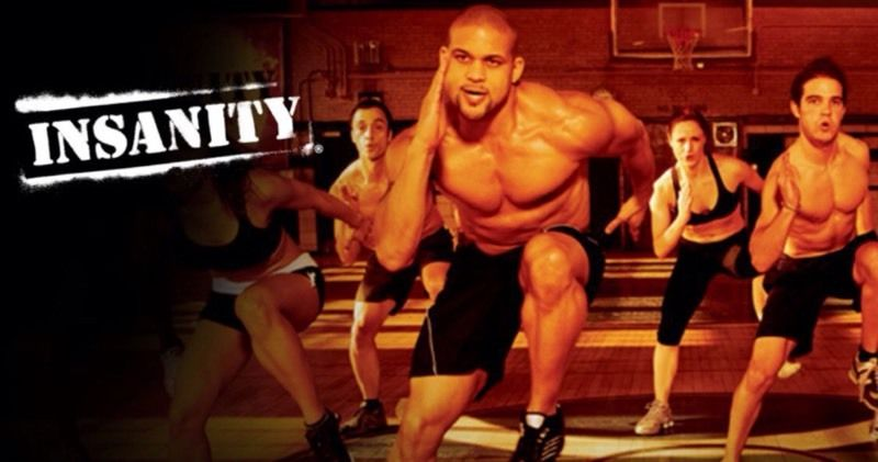 Insanity Dvd Work Out dvd Sean T
