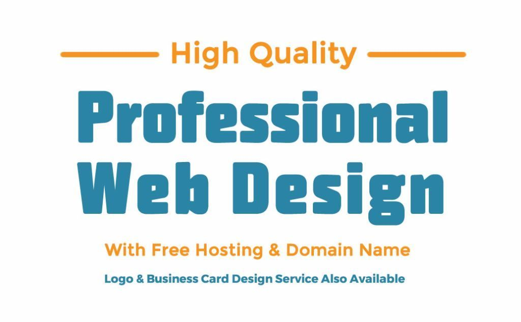 High Quality Website Design | Logo Design | Business Card Design