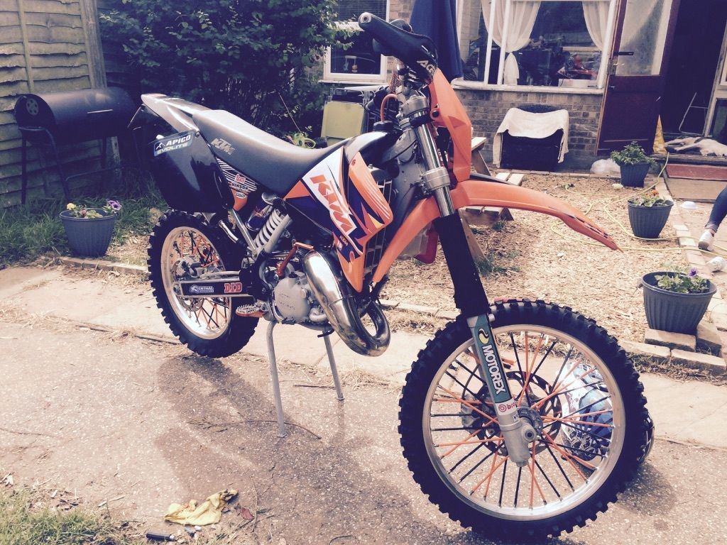 Ktm 125 exc full day/night mot Not cr yz kx rm dt