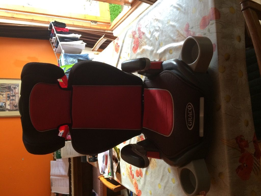 SOLD - Greco adjustable car seat which converts to booster seat