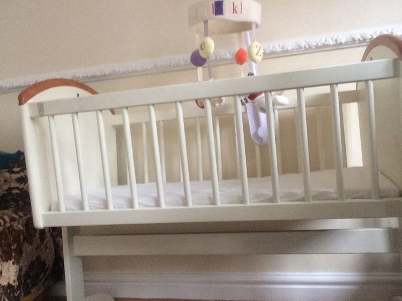 Baby crib from mothers care