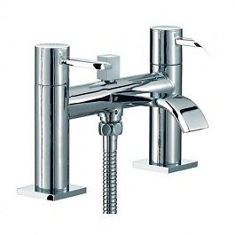 New Bath Mixer tap with Hose and shower head. Brand new item solid brass Body.