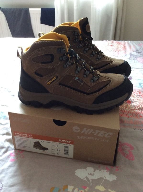 Hi tec gortex hiking boots size 8