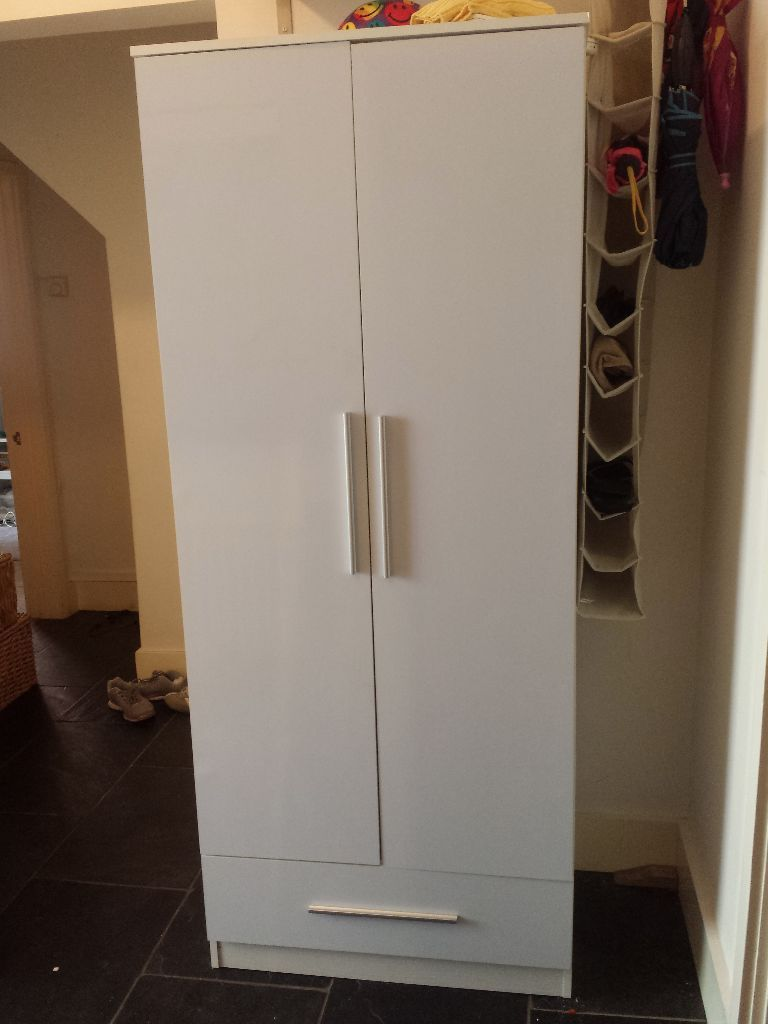 White Wardrobe for Sale.