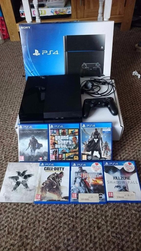 PS4 500GB BOXED