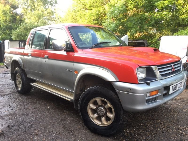 Mitsubishi l200 2.5 td 4x4 pick up