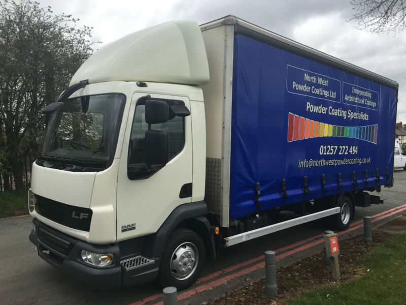 Daf LF45.160 7.5T 20ft Curtainsider With Tail Lift - Very Clean Truck