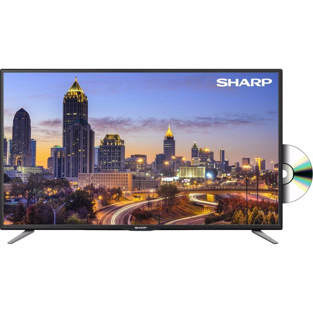 NEW Sharp LC-32CFE5111K 32-Inch FULL HD 1080p LED TV with Freeview HD and DVD Player COMES WITH BOX