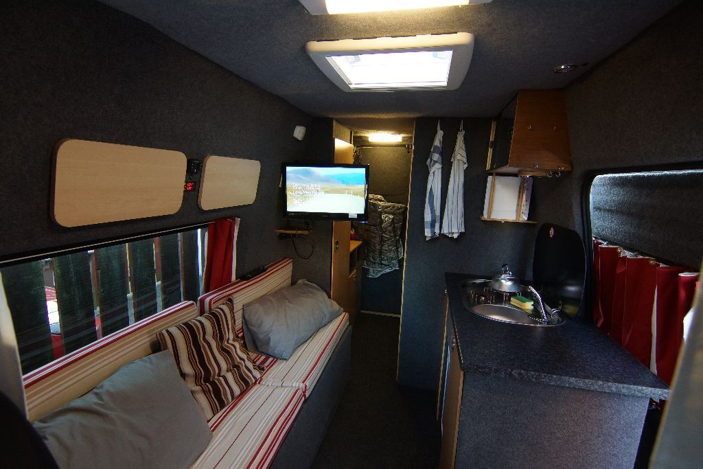 2 berth, full kitted out hightop motorhome/campervan conversion with shower and toilet