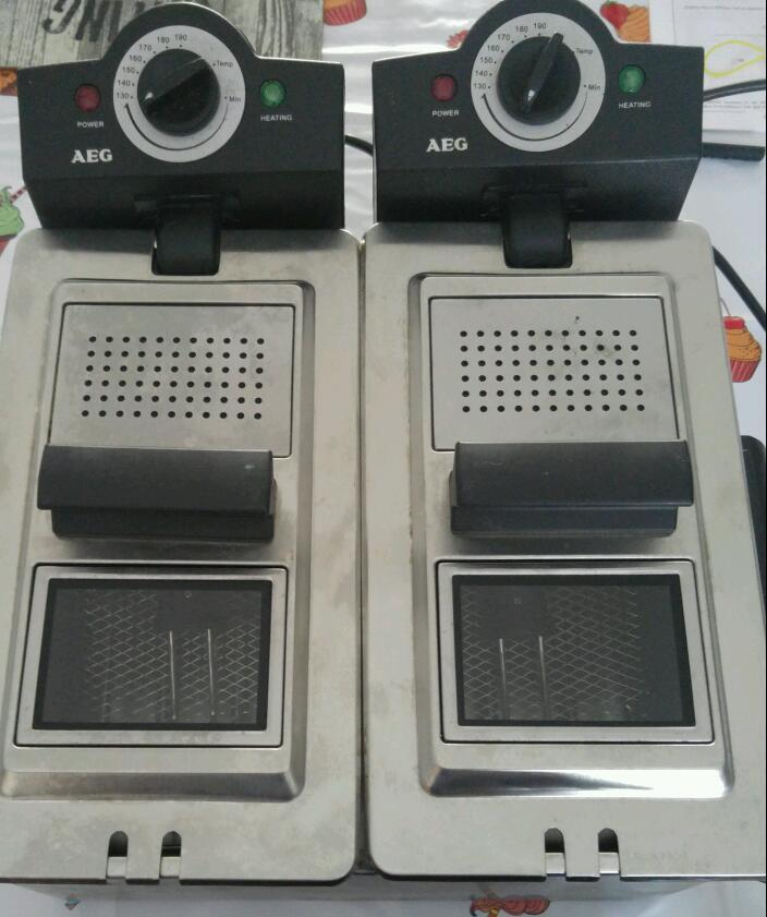 AEG Fryer commercial Quality Double Fryer