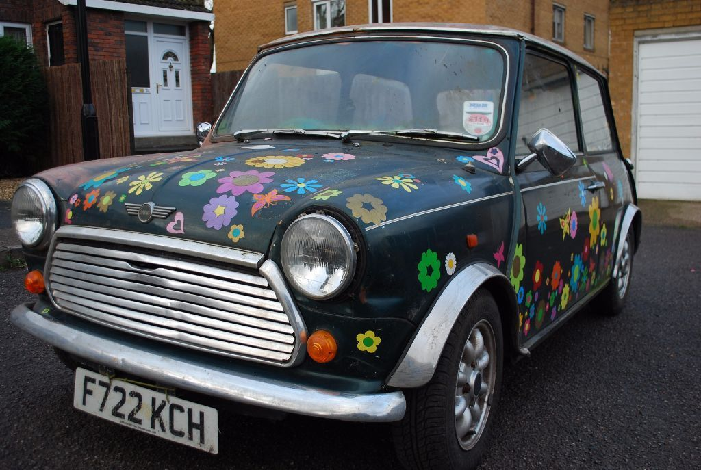 1989 Austin Mini Racing Flame *** RESTORATION PROJECT *** for spares or parts