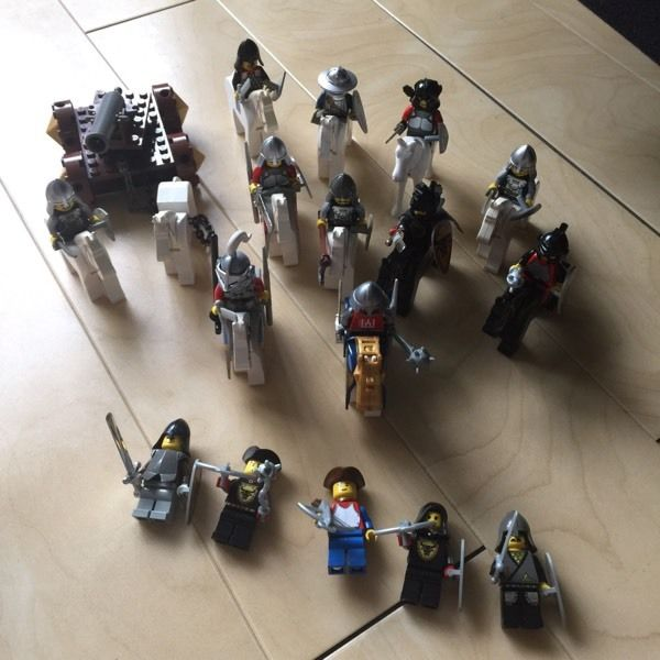 Amazing Lego knight figures