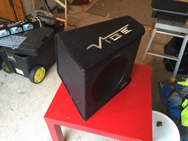 Vibe subwoofer faulty