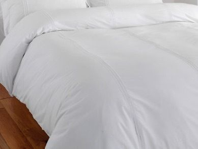 White double size goose-feather duvet