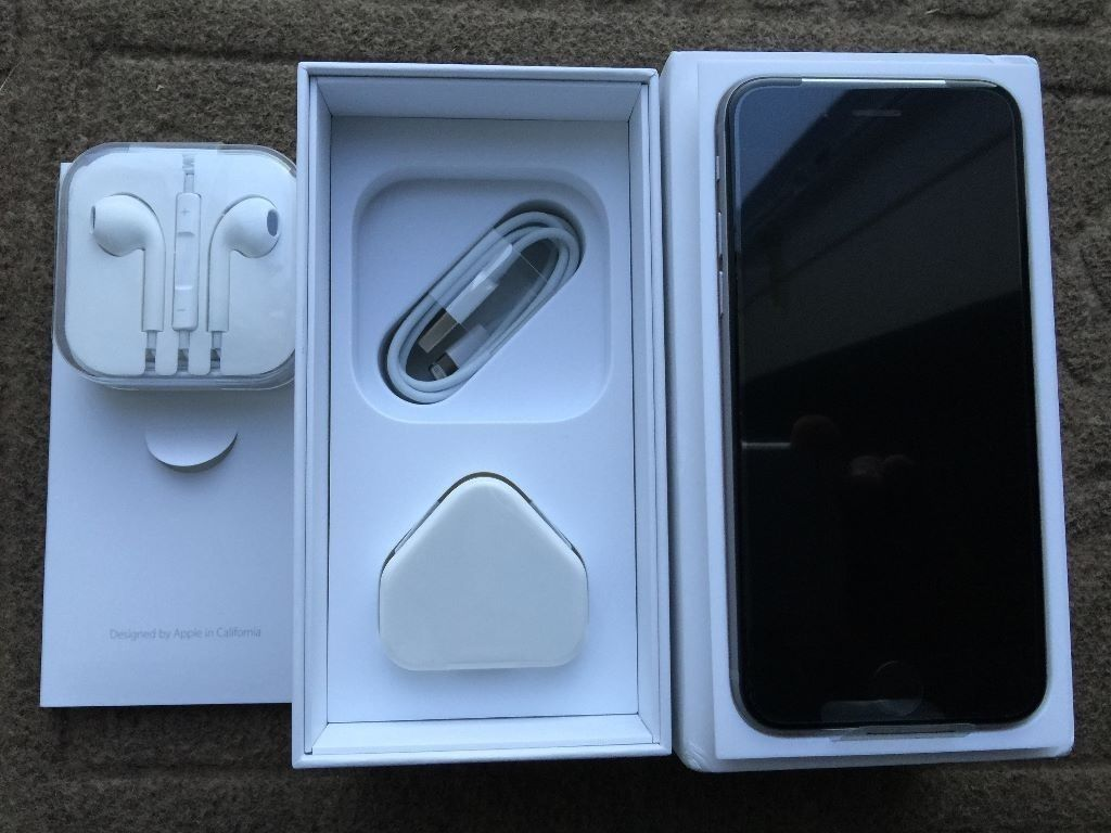 APPLE IPHONE 6S 16GB SPACE GREY,UNLOCKED TO 02/TESCO AND GIFF GAFF,BRAND NEW BOXED