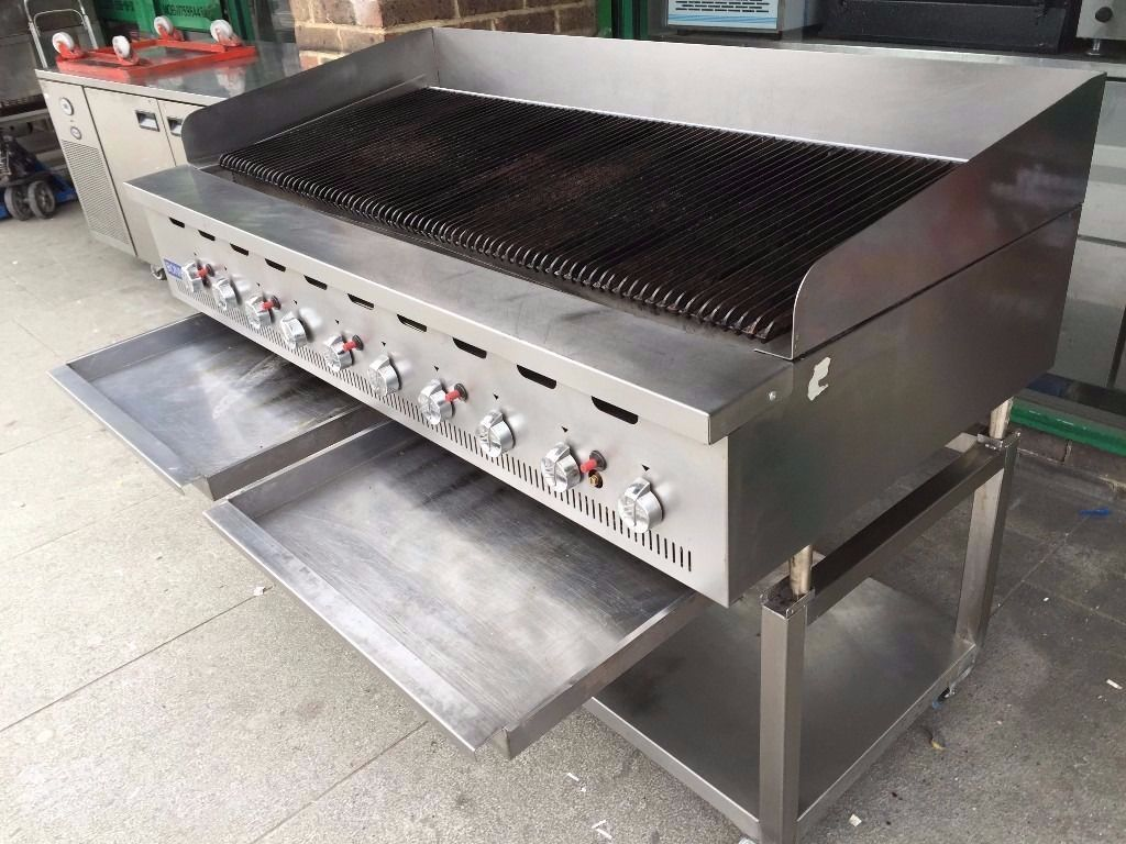 CATERING COMMERCIAL FLAME CHAR GRILL CHICKE KEBAB PERI PERI BBQ SHOP CAFE BAR FAST FOOD TAKE AWAY