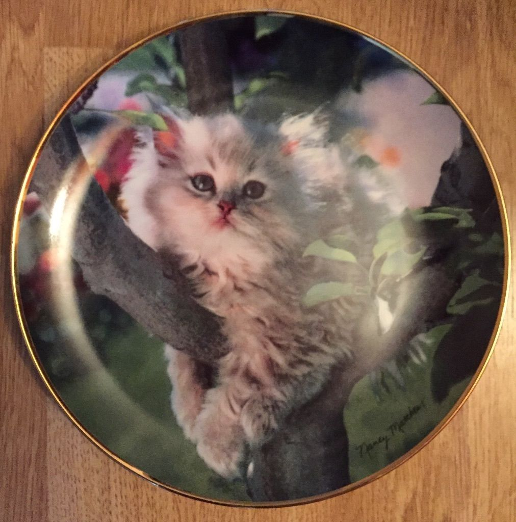 """Out on a Limb"" special edition collectors plate"